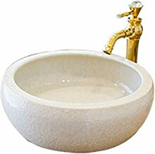 Badezimmer Runde Einfache Waschbecken Sink Keramik