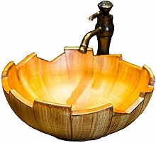 Badezimmer Runde Moderne Waschbecken Sink Keramik