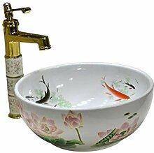 Badezimmer Runde Small Size Waschbecken Sink
