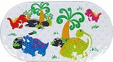 Badezimmer rutschfeste Matte Kreativ Duschmatte Cartoon-Stil Badematte Bodenmatte Teppich Fußmatte , B