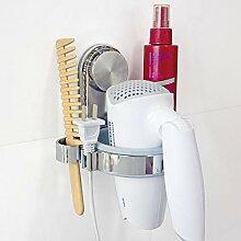Badezimmer Saugnapf Haartrockner Mehrzweck-Ablage