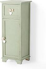 Badezimmer Schrank stehend Carlotta, grün