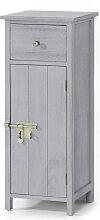 Badezimmer Schrank stehend Lino, grau