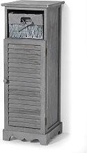 Badezimmer Schrank stehend Torsten, grau