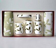Badezimmer Set Geschenkbox aus Acryl Wash Ki