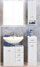 Badezimmer Set mit Metallgriffen (3-teilig)