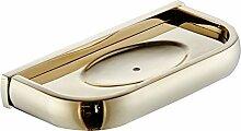 Badezimmer Soap Gericht, Hochwertiges Gold Seifenkiste, Kupfer Seife Rack, Bad-accessoires