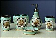 Badezimmer Sou Sanitärkeramik mit fünf Stück Keramik Badezimmer Set c