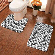 Badezimmer-Teppich Gefängnisfelsen Badezimmer