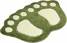 Badezimmer Teppich Tür Fußmatte Badematte -