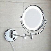 Badezimmer Wandspiegel/Folding Spiegel/Badspiegel Teleskop/ledSided Vergrößerungsspiegel