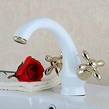 Badezimmer Warmer Und Kalter Wasserhahn Waschbecken Wasserhahn Waschbecken Bad Hardware