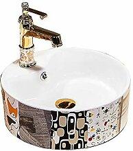 Badezimmer Waschbecken, Keramik Badezimmer