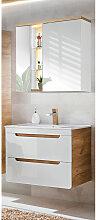 Badezimmer Waschplatz Set mit 80cm