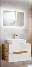 Badezimmer Waschplatz Set mit Keramik-Waschtisch