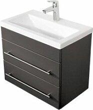 Badezimmer Waschtisch mit Keramik-Waschbecken