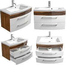 Badezimmer Waschtisch mit Unterschrank RIMAO-02