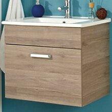 Badezimmer Waschtisch OSTENDE-66 in Sanremo Eiche