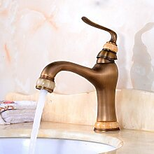 Badezimmer Wasserhahn Antike Wasserhähne Kupfer Heiß Und Kalt Waschbecken Aufsatzbecken Wasserhahn Bad Hardware,C