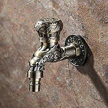 Badezimmer Wasserhahn antiken Messing Wasserhahn