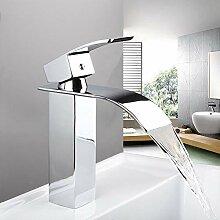 Badezimmer Wasserhahn Massiv Messing Wasserfall