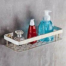 Badezimmer weiß Regal Dusche Ecke Rack