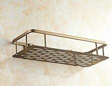 Badezimmer Zubehör, Kupfer antik rechteckig Badezimmer Wandregale, Material: Kupfer, Größe: 508 cm * 33 cm * 30 cm