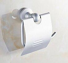 Badezimmer Zubehör, Papier Handtuch Bathroomtoilet boxspace aluminumpaper rackwaterprooftoilet Bett toiletroll Fach, Material: Aluminium