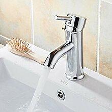 Badezimmerhahneinlochmontage Waschbecken