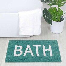 Badezimmermatten Läufer, flauschiger Teppich für