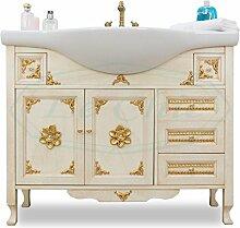Badezimmermöbel Barock Klassisch Imperium Blattgold