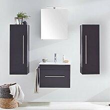 Badezimmermöbel Set mit 61,5cm Keramik-Waschtisch