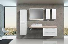Badezimmermöbel Set mit Design Waschbecken,