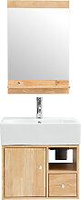 Badezimmermöbel: Waschbecken mit Waschkommode und