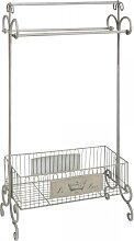 Badezimmerregal, Herrendiener, Handtuchhalter mit Ablagekorb Belldeco WA (64,95 EUR / Stück)