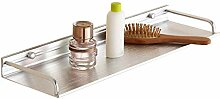 Badezimmerregal Wandmontage Duschhalter Silber