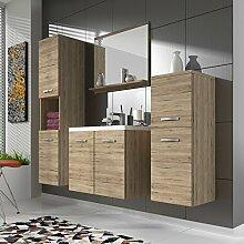 waschbecken mit unterschrank g nstig online kaufen lionshome. Black Bedroom Furniture Sets. Home Design Ideas