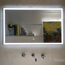 Badezimmerspiegel Badspiegel mit LED-Beleuchtung