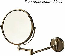 Badezimmerspiegel Make-up Kompakte Spiegel Folding