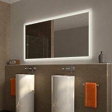 Badezimmerspiegel mit Beleuchtung Naro - B 800mm x H 600mm - neutralweiss