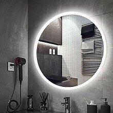 Badezimmerspiegel Runder Beleuchteter Led