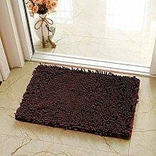 Badezimmerteppich dick, rutschfeste Badematte,