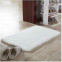 Badezimmertürmatte Teppich, Shaggy Badeteppiche,