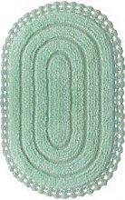 Badgarnitur 2-Teilig 100% Baumwolle Badteppich