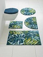 Badgarnitur Folla mit Blätter-Design 1, ca. 45/50