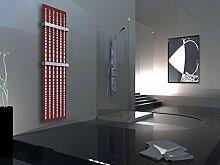 Badheizkörper Design broken Mirror 3, HxB: 180 x