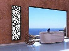 Badheizkörper Design Kreta 3, HxB: 180 x 47 cm,