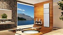 Badheizkörper Design Mirror Steel 3, 180 x 47 cm,