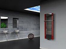 Badheizkörper Singapur (Spiegelglas) 120 x 47 cm,