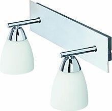 Badlampe, 2102-028 Badezimmerlampe, Wandlampe 2x